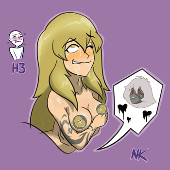 Citrine Ahegao by TheGraffitiSoul