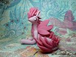 Pink Maned Dragon by Snowifer