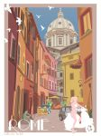 Rome travel Poster (Day Version) by ParadoxParade
