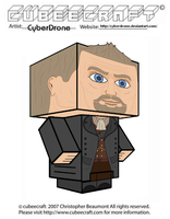 Cubeecraft - The 'War' Doctor by CyberDrone