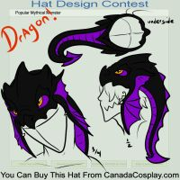 Dragon hat contest entry by ShadowToxin