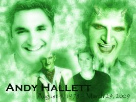 Andy Hallett, We Will Miss You by darkflame1516