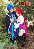 Erza and Gerald cosplay - Should be together by onlycyn