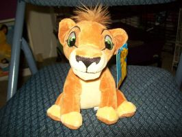 Kovu Plush 2012 by BeautifulHusky