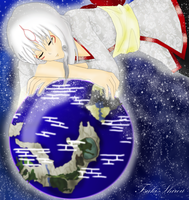 And I'll protect this world... by Tsuki-Shirou