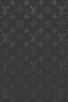 Black Leather LV - iPhone by 7unw3n