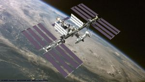 ISS in Space by Nova1701dms