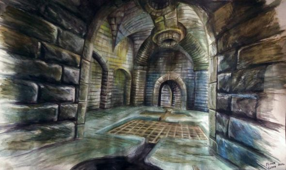 Imperial city sewers by Quinnymeow