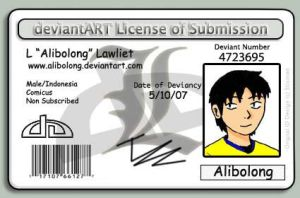 My Deviant License by alibolong
