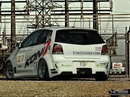 Volkswagen Polo GTI Racekit by Hossworks