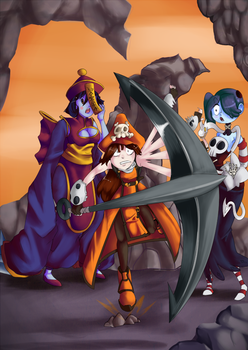 Zombies and Pirates! by Darkflame411