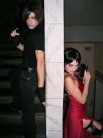 Ada Wong and Leon S. Kennedy by Eyes-0n-Me