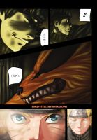 Naruto 570 Naruto and Kurama by Sined-Style
