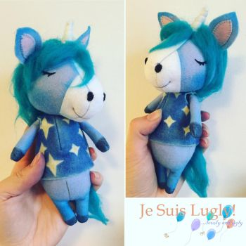 Animal Crossing Julian the Unicorn Doll by Je-Suis-Lugly