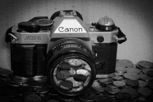 Spare Change Photography BW by FellowPhotographer