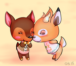 Beau and Fauna by NejiKitty