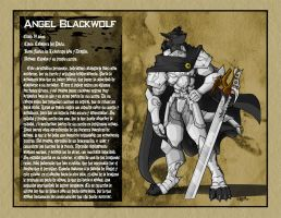 Angel Blackwolf in Technicolor by siekfried