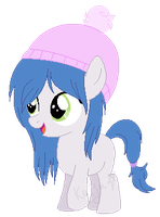 filly with cute hat adopt [OPEN] by the-pegasus-katja