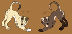 Lioness Adoptables (CLOSED) by JedaAdoptables