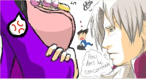 iscribble miles edgeworth by nomers-sushi