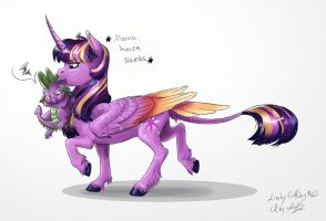 Mama Twi (with Earthsong9405) by MiidniightSuun