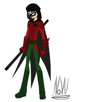 My Robin: Design 1 by NoXV
