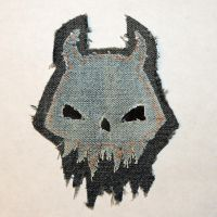 Horned Skull Patch by Stixwitdafix