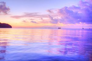 Calm Waters Stock by little-spacey