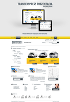 Corporate website Transexspress  courier by kqubek by kqubekq
