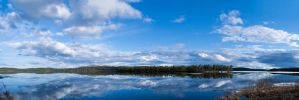 Ounasjarvi in May 2011 by uudii