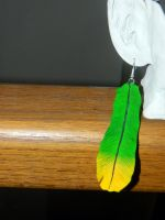 Featherless Feather Earrings by NerdEcrafter