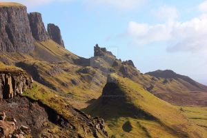 The Quiraing III - Sneak Peek Stock by devils-horizon