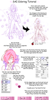 SAI Coloring tutorial by Pride-kun