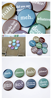 Meh and other Attitude buttons by artshell