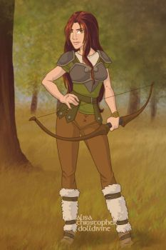 Summer, The Huntress by metanol33