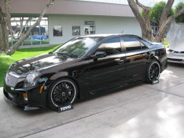 fully black suicide cadillac by reika7