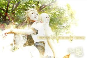 Roxas and Namine by Heartyful