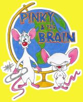 Pinky and the Brain by Cola-Addicted