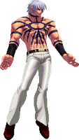 KOF XII styled sprite by OMEGAeFeX