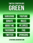 Twitch Starter GPX - Green Tab Set by 12thStroke