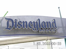 Disneyland Sign by emogal96