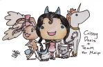 BSC: Crissy and Team Pencil Chibi Commision by SOTDcorp