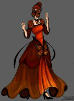 the monarch dress by antler-girl