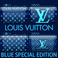 Colorflow Blue LouisVuitton by T0j