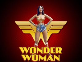 Wonder Woman Lynda Carter wp by SWFan1977
