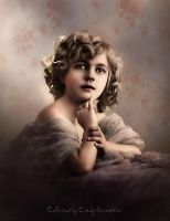Colored Vintage Photo by CindysArt