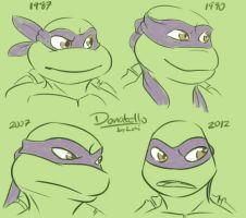 TMNT: Donatello by Succubii