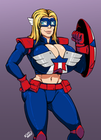 [CM] Liberty Belle [2/2] by SutibaruArt