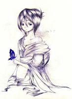 Don't cry, butterfly... by Bluewind97