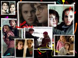 Harry and Hermione by JaMiE09